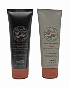 Tweak-d By Nature Restore Hair Strengthening Shampoo and Conditioner 3 oz. each