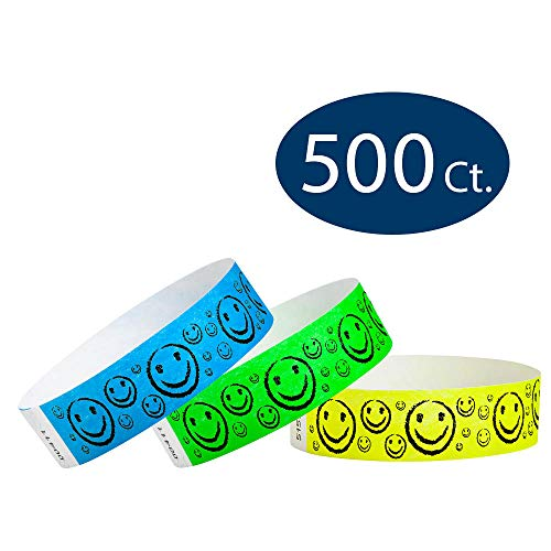 WristCo Smiley Face Variety Pack 3/4