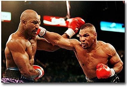 Mike Tyson Boxing Boxer Silk Poster Print 13x20 24x36  inch 004