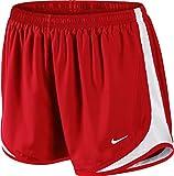 Nike Womens Race Shorts - Red - Medium