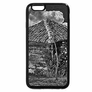 iPhone 6S Case, iPhone 6 Case (Black & White) - Rose Lodge