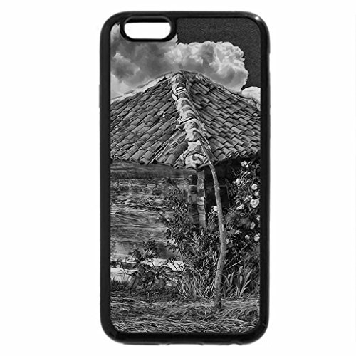 iPhone 6S Plus Case, iPhone 6 Plus Case (Black & White) - Rose Lodge