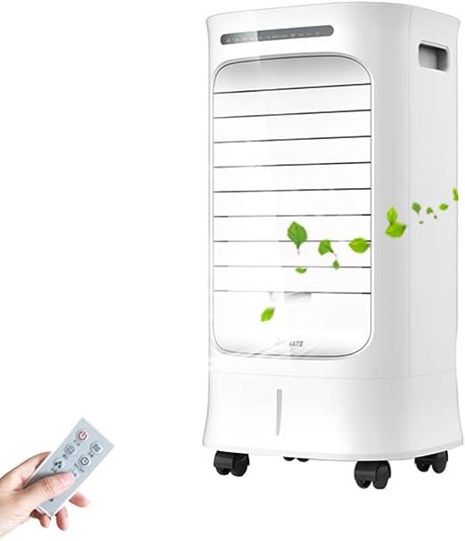 Ventilador Individual De Aire Acondicionado Frío con Tanque De Agua De 8 litros, 15H Tiempo, Ahorro De EnergíA Silencioso,Ventilador De Agua Y Agua Helada, Blanco 66w: Amazon.es: Hogar
