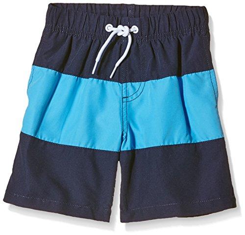 Miami Beach Swimwear Jungen Badeshorts Justin, Blau (Baia Blue 605), 176