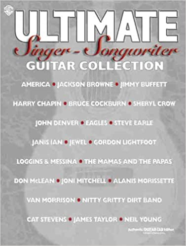 Epub lataa kirjoja Ultimate Singer-Songwriter Guitar Collection: Authentic Guitar TAB (Ultimate (Warner Bros)) PDF