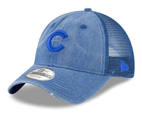 New Era Chicago Cubs MLB 9Twenty Tonal Washed Adjustable Meshback Hat