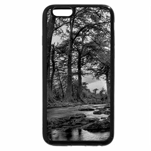 iPhone 6S Plus Case, iPhone 6 Plus Case (Black & White) - GUADALUPE RIVER,TEXAS