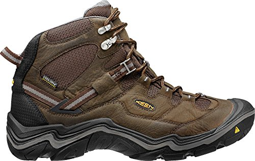 - KEEN Men's Durand Waterproof Mid Wide Hiking Boot, Cascade Brown/Gargoyle, 9.5 W US