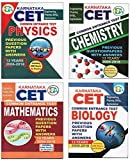 Karnataka CET Previous Question Papers (PCMB) - Set Of 4 KCET Books