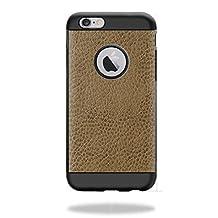 MightySkins Protective Vinyl Skin Decal for Spigen iPhone 6 Tough Armor Case Case wrap cover sticker skins Sandlwood Leather