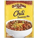 Old El Paso Chili Seasoning Mix 1oz (Pack of 4)