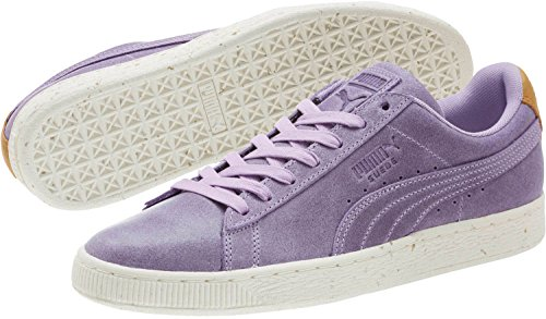 PUMA Mens Suede Deco Shoes Purple Rose/Golden Brown zBbvh3l