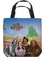 The Wizard of Oz Emerald City Tote Bag White 13X13