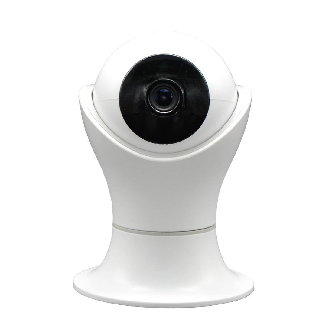 H+K+L Smart Camera Webcam HD 1080P WIFI Security IP Camera Wireless 2-Ways Audio CCTV Camera Baby Monitor (white)