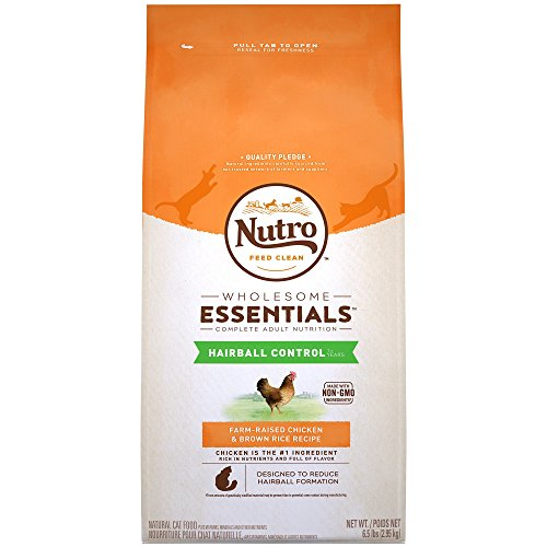 Nutro WHOLESOME ESSENTIALS Hairball Control Farm-Raised Chic