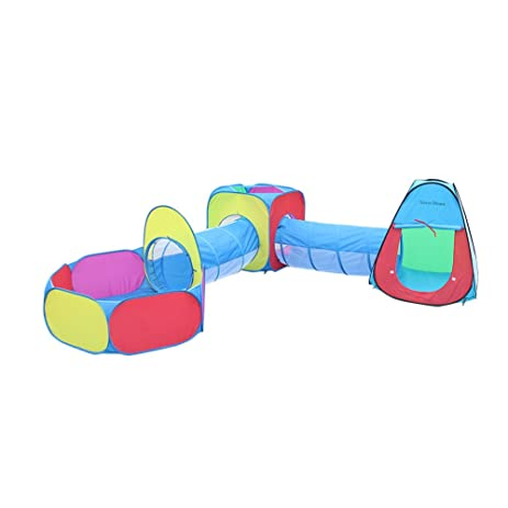 Kids Play Tent Traver Dream 5 in 1 Pop-up Play Tent Tunnel Ball  sc 1 st  Amazon.com & Amazon.com: Kids Play Tent Traver Dream 5 in 1 Pop-up Play Tent ...