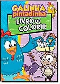 Galinha Pintadinha: Livro de Colorir (Em Portugues do