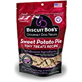 Biscuit Bob's Tiny Treats for dogs - Gourmet dog treats loaded with vitamins & fortified with fish oil (Sweet Potato Pie)