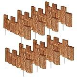 Greenes Fence 18 in. Half Log Edging (8 Pack)