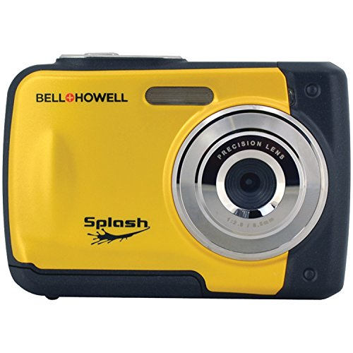 Bell+Howell Splash WP10-Y 16.0 Megapixel Waterproof Digital Camera with 2.4-Inch LCD & HD Video (Yellow) by Bell + Howell