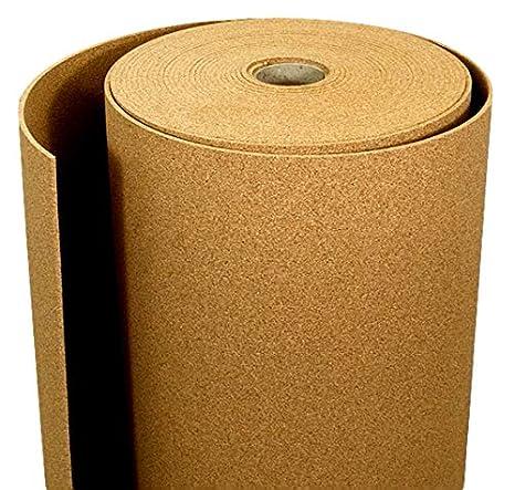 Korkrolle 4 mm x 1m 1m2 Feink/örnig hohe Flexibilit/ät Anti-Static Anti-Rutsch Schallschutzb/öden und andere h/öchste Qualit/ät Naturkorken f/ür Ihr Haus und B/üro mit einer Vielzahl von Anwendungen