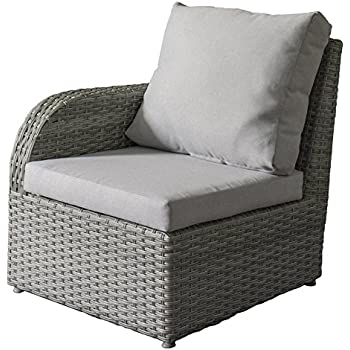 Amazon.com: CorLiving PCL-260-N Brisbane - Silla de patio ...