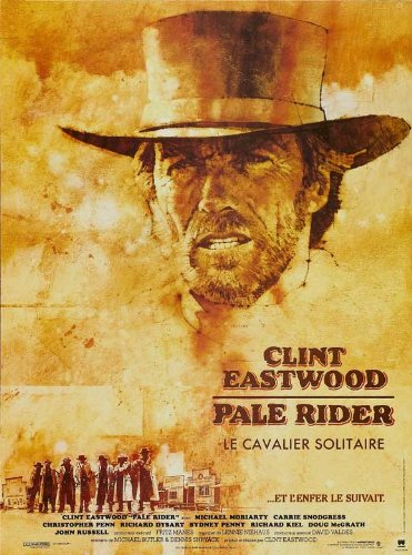 Pale Rider Poster Movie French Clint Eastwood Michael Moriarty Carrie Snodgress Sydney Penny