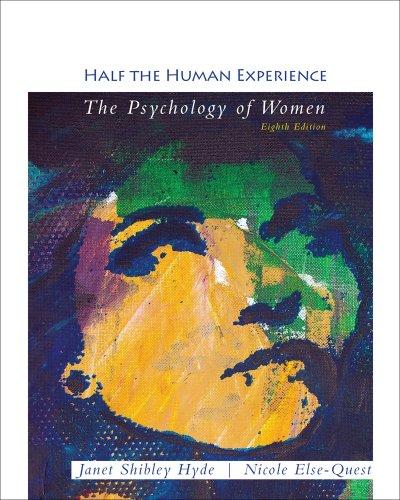 Cengage Advantage Books: Half the Human Experience
