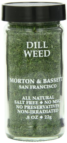 Morton & Basset Spices, Dill Weed, 0.8 Ounce (Pack of 3) by Morton & Bassett