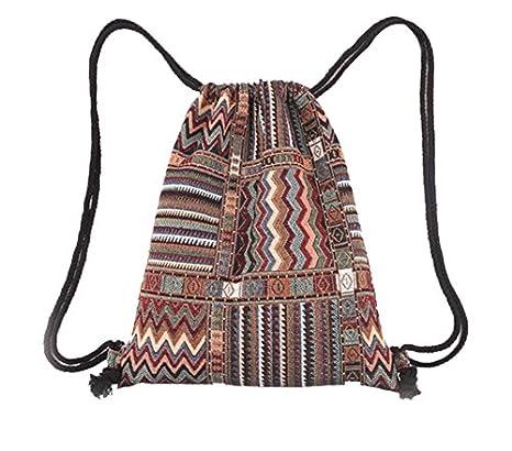 Westeng Bolsas de cuerdas Viento Nacional Bolsa de Compras Deportes y aire libre Mochila Backpack Deporte Moda Ocio Bolso