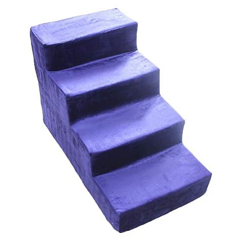 Lxla Erhohte Lila Hunde Treppe 4 Stufen Leiter Fur Kleine Bis