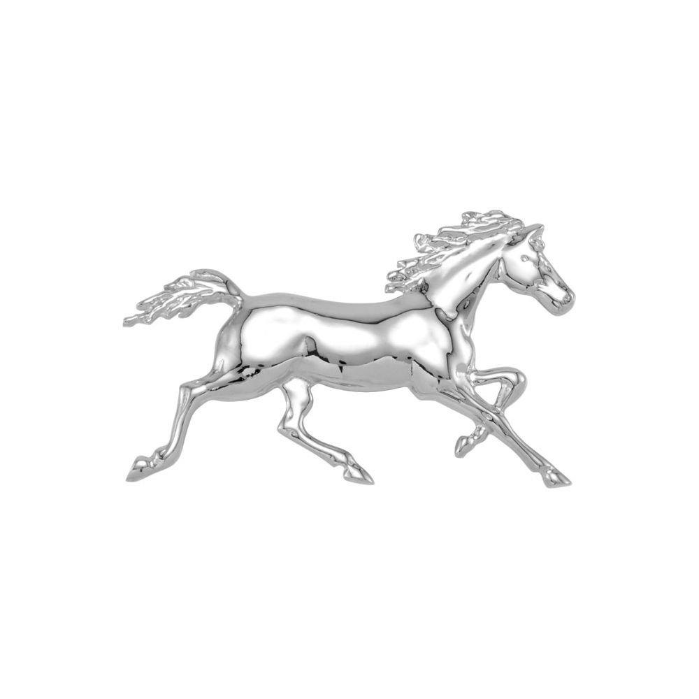 Standardbred Trotter with Full Mane & Tail by DiamondJewelryNY