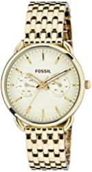 Fossil Women's ES3714 Tailor Gold-Tone Stainless Steel Watch
