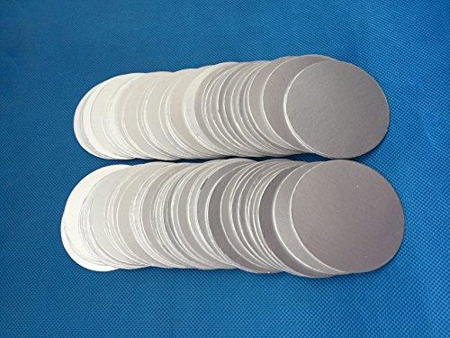45mm plactic laminated aluminum foil lid liners For induction sealing (10000pcs) by Bonny&T (Image #1)