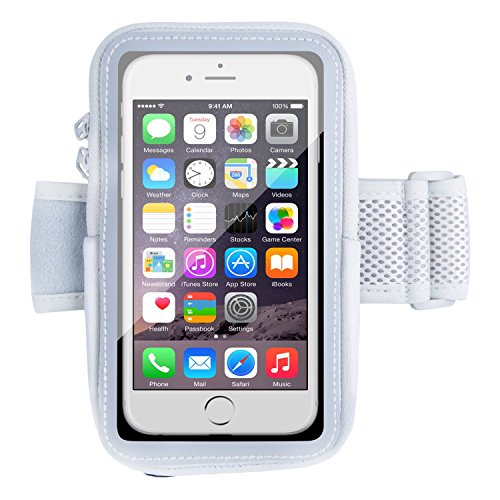 iPhone 6s Plus Armband,Splaks Sports Armband for iPhone 6/6s Plus Running Cell Phone Holder, Light-Weight Water-Resistant Sweat-Free with Adjustable size and Key Cash Holder