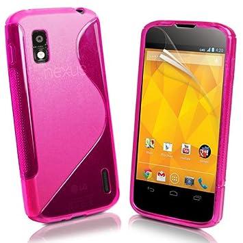 funda en silicona cobertura Gel Case funda para LG Google ...