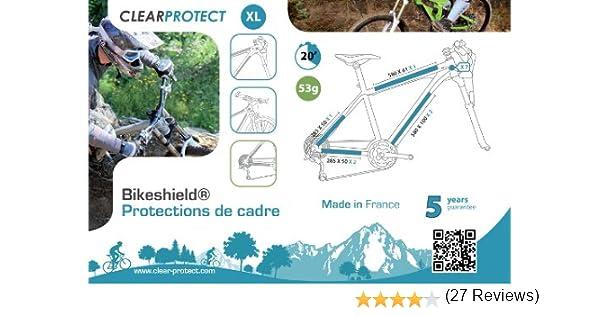 Clearprotect -Protecciones para Cuadro de Bicicleta Talla:Extra ...