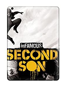 Best Fashion Tpu Case For Ipad Air- Infamous Second Son Defender Case Cover