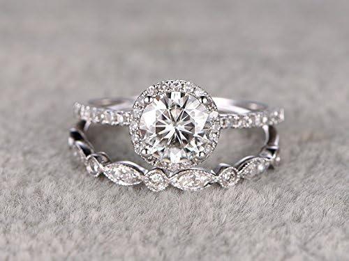 MYRAYGEM-wedding ring sets t072 product image 6