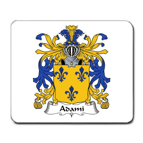 Adami Family Crest Coat Of Arms Mouse Pad