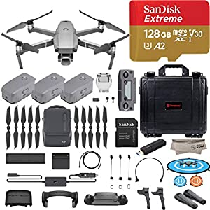 51ZymYJXwnL. SS300  - DJI Mavic 2 Pro Drone Quadcopter with Fly More Combo, Hasselblad Camera, 3 Batteries, PGY ND Filters & Pad Holder, 128GB…