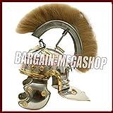 QUALITYMUSICSHOP Roman Centurion Helmet Full Size Medieval Historical Ancient Greek Warrior Helmet andunique Item.