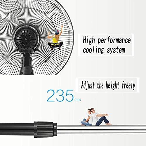 Ventilatore A Piedistallo, Funzionamento Silenzioso, Oscillante, Altezza Regolabile, Ventola di Raffreddamento, Ideale per La Casa E Officepedestal Ventola con Telecomando