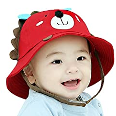 Babies have thinner skin that is more vulnerable to sunburn than adult skin and special care must be taken to ensure that it's well protected from the sun the i play solid brim sun protection hat is a lightweight.  Adjustable in size with dra...