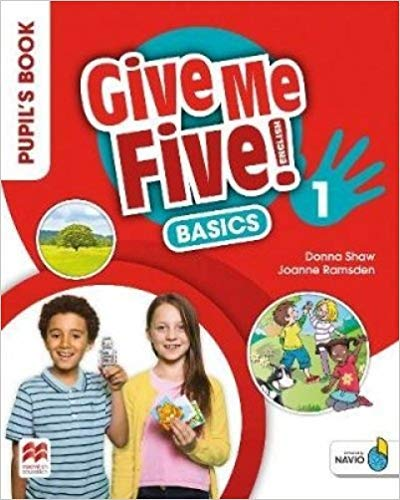 Give Me Five! Pupil'S Book Pack Basics 1