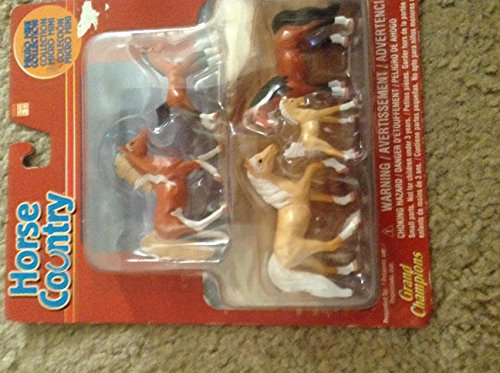 Grand Champions HORSE COUNTRY MICRO MINI COLLECTION 2003 new