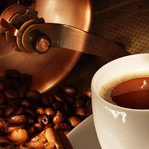 Vanki Mini Manual Coffee Mill Wood Stand Metal Bowl Antique Hand Coffee Bean Grinder by vanki (Image #2)