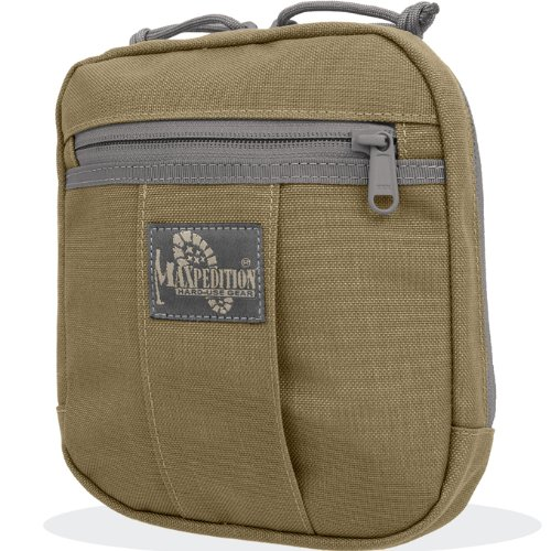 Maxpedition Gear JK-1 Concealed Carry Pouch, Khaki Foliage
