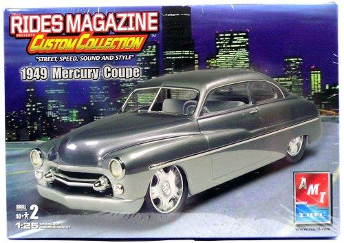 AMT Rides Magazine Custom Collection 1949 Mercury Coupe Model kit
