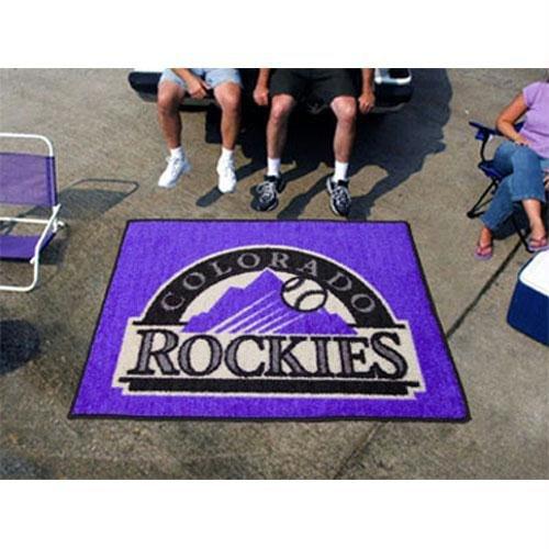 MLB - Colorado Rockies Tailgater Rug
